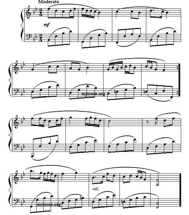 天仙配 钢琴乐谱